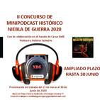 II concurso podcasting NdG promo ampliación plazo