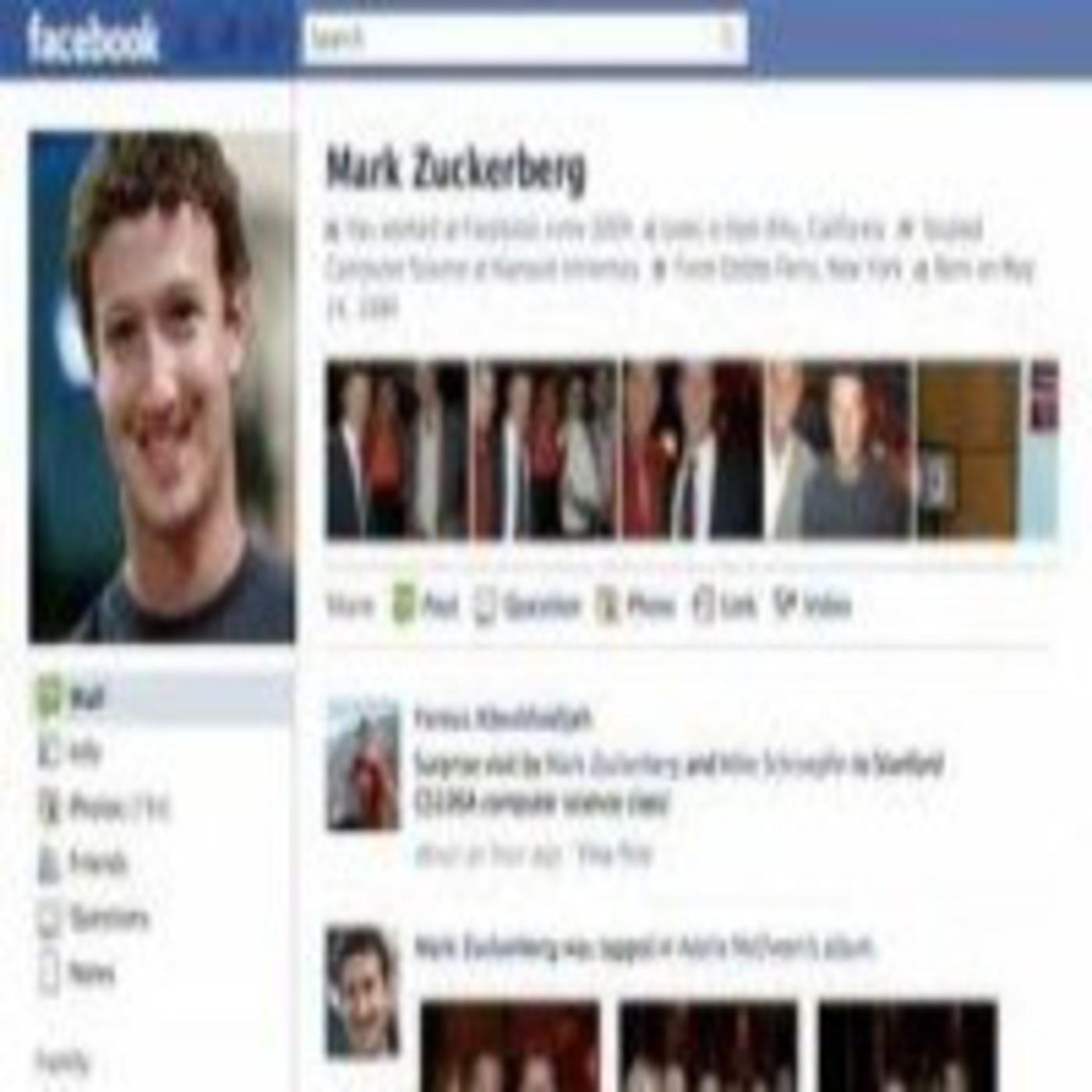 Mark Zuckerberg, dentro de Facebook