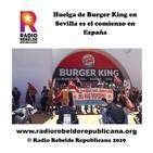 Huelga de Burger King en Sevilla es el comienzo en España