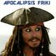 AF 208 - Jack Sparrow y los Piratas del Caribe MIX