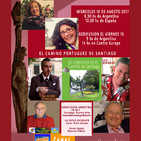El Camino Portugués de Santiago – Eduardo Aldiser – Oscar Pedro Juliano – 16-08-2017