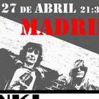 Kinki Boys : Día 27 de Abril en Madrid