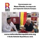 Conversamos con Manu Pineda, Eurodiputado por Izquierda Unitaria Europea