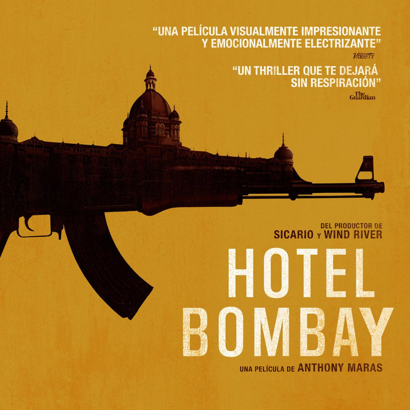 Hotel Bombay (2018) #Thriller #Drama #Terrorismo #peliculas #audesc #podcast