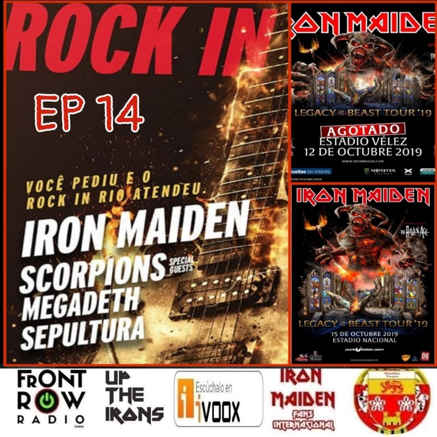 14 Especial Iron Maiden Sudamérica 2019