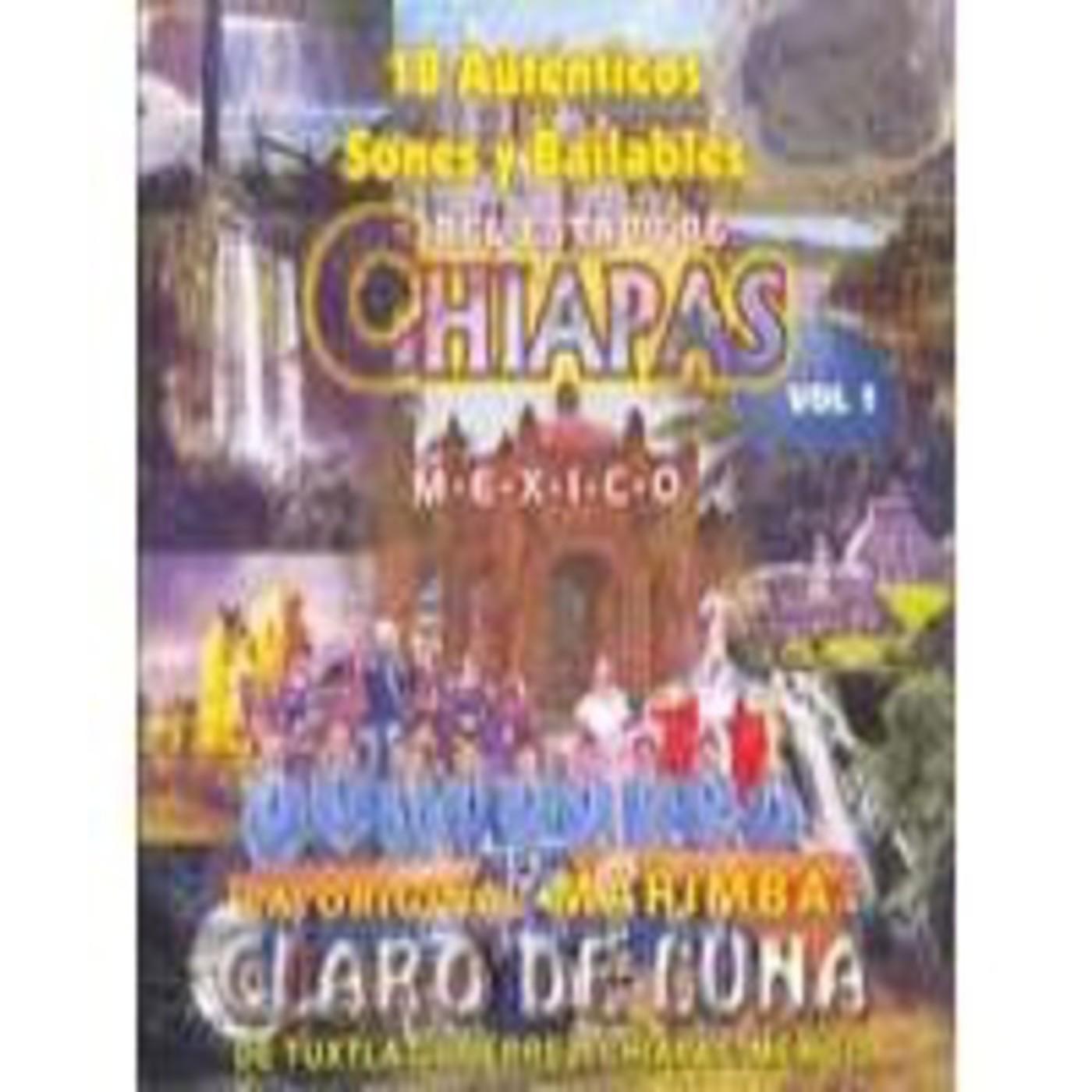 Marimba Claro de Luna - 35 Auténticos Sones y Bailables del Estado de Chiapas, México | 1:54:23 Hrs