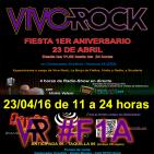 Fiesta de I Aniversario Vivo Rock (I)_23/04/2016