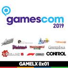 GAMELX 8x01 - Visitamos la Gamescom 2019 + Repaso a nuestro verano