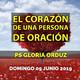 """""""EL CORAZÓN DE UNA PERSONA DE ORACIÓN"""""""