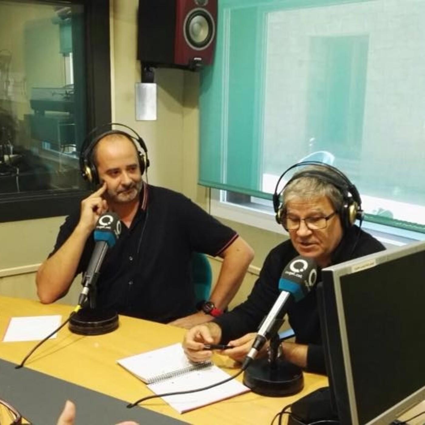 Entrevista junto a José Luis Caballero para el programa Lletres i Musica