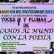 Voces y Plumas de Unamos al Mundo con la Poesía del dia 02 de Noviembre del 2019.