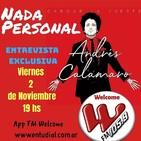 Nada Personal, programa 86, Entrevista Andrés Calamaro ( 1ª parte)