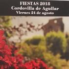 Entrevista Fiestas 2018 Cordovilla de Aguilar