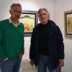 Entrevista al pintor Pedro Roldán, por su exposición 'Cruce de camino' en Ceferino Navarro