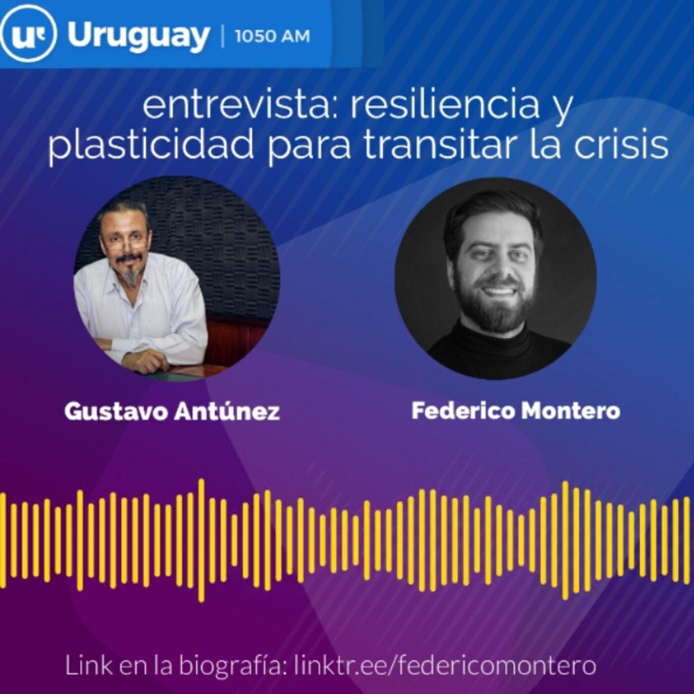 Resiliencia y plasticidad para transitar la crisis: entrevista en Radio Uruguay 7-10-20