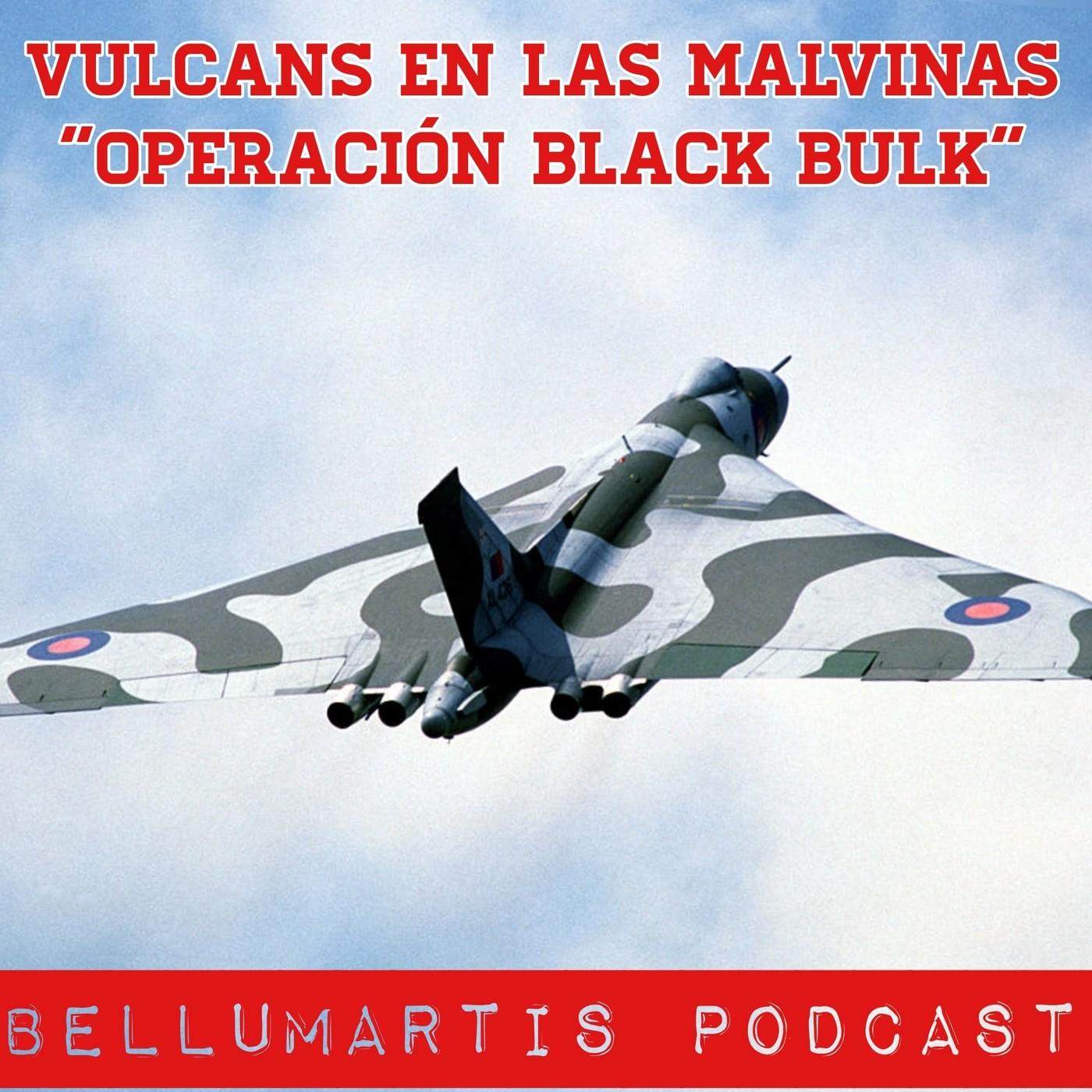 """OPERACIÓN BLACK BULK"""", vulcans en las Malvinas"""