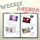 Raquel Cruz Weekly Agenda prog 19