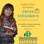 Drops literários com Angélica Rizzi apresentando Monteiro Lobato