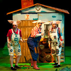La nueva programación del Teatro de Molina se inicia con Los Tres Cerditos