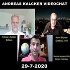Dióxido de Cloro: Andreas Kalcker / Dr. Mauricio Acevedo Entrevista Graffiti Radio Mario Blitzman (29-7-2020)