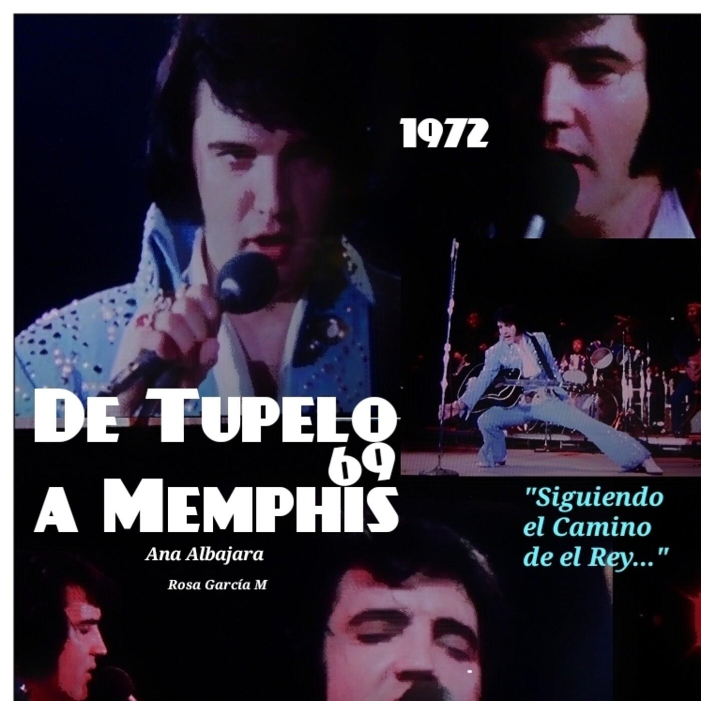 De Tupelo a Memphis 69. Elvis On Tour. The concerts.