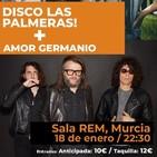 Entrevistamos a Amor Germanio, banda murciana que actúa este viernes en la Sala REM de Murcia