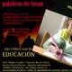 III Palabra de Fuego - EDUCACIÓN