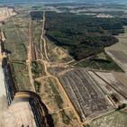 Defensa del bosque Hambach en Alemania