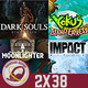 GR (2X38) AC Odyssey, Fallout 76, Gears of War 5, Best of PS3, Moonlighter, Dark Souls Remastered, Yoku´s Island Express