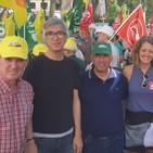 Declaraciones Manuel Lay, coordinador IU Sevilla, en concentración en defensa de la Aceituna de Mesa