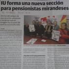 Rueda de Prensa sobre pensiones en Miranda de Ebro