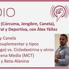 Episodio 166: Especias (Cúrcuma, Jengibre, Canela), Suplementación General y Deportiva, con Àlex Yáñez