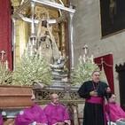 RENOVACIÓN DEL VOTO DE JEREZ A SU PATRONA Intervenciones del comendador mercedario, la alcaldesa y el obispo asidonense