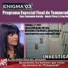Enigma03 Las desterradas Hijas de Eva - Vida NASA (1-7-2017)