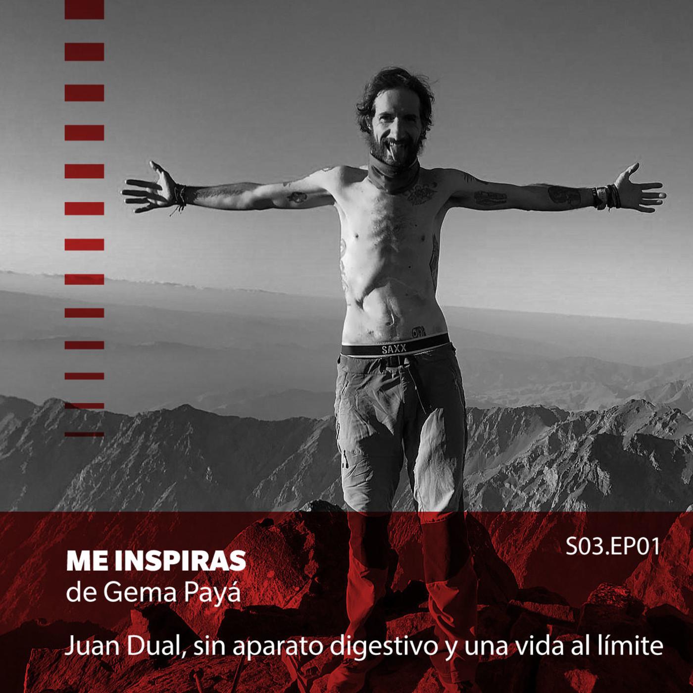 Juan Dual, sin aparato digestivo y una vida al límite en Me Inspiras de Gema Payá