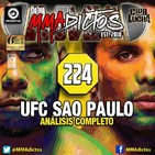 MMAdictos 224 - Análisis de UFC Sao Paulo: Santos vs. Anders