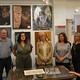 Inauguración de la exposición de pintura infantil en el Colegio de Gestores de Granada