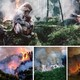 Convocaron a protestar frente a la Embajada de Brasil por el incendio a la Amazonas.