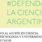 Guadalupe Suarez miembro de Científicos y Universitarios Autoconvocados, Becaria del CONICET y Trabajadora de la UBA