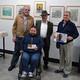 Entrevista a Ramón Moya, Emilio Freire y Francisco Domínguez, con motivo de la exposición 4 miradas en La Granja