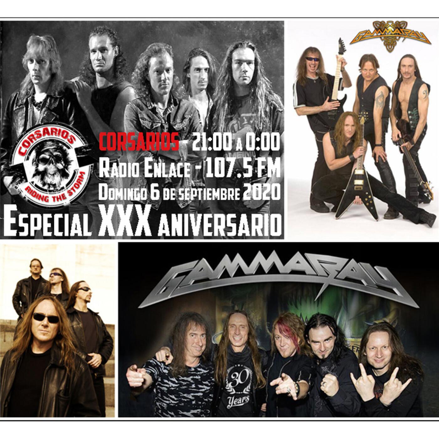 Corsarios - Especial XXX años de GAMMA RAY - Domingo 6 de septiembre 2020