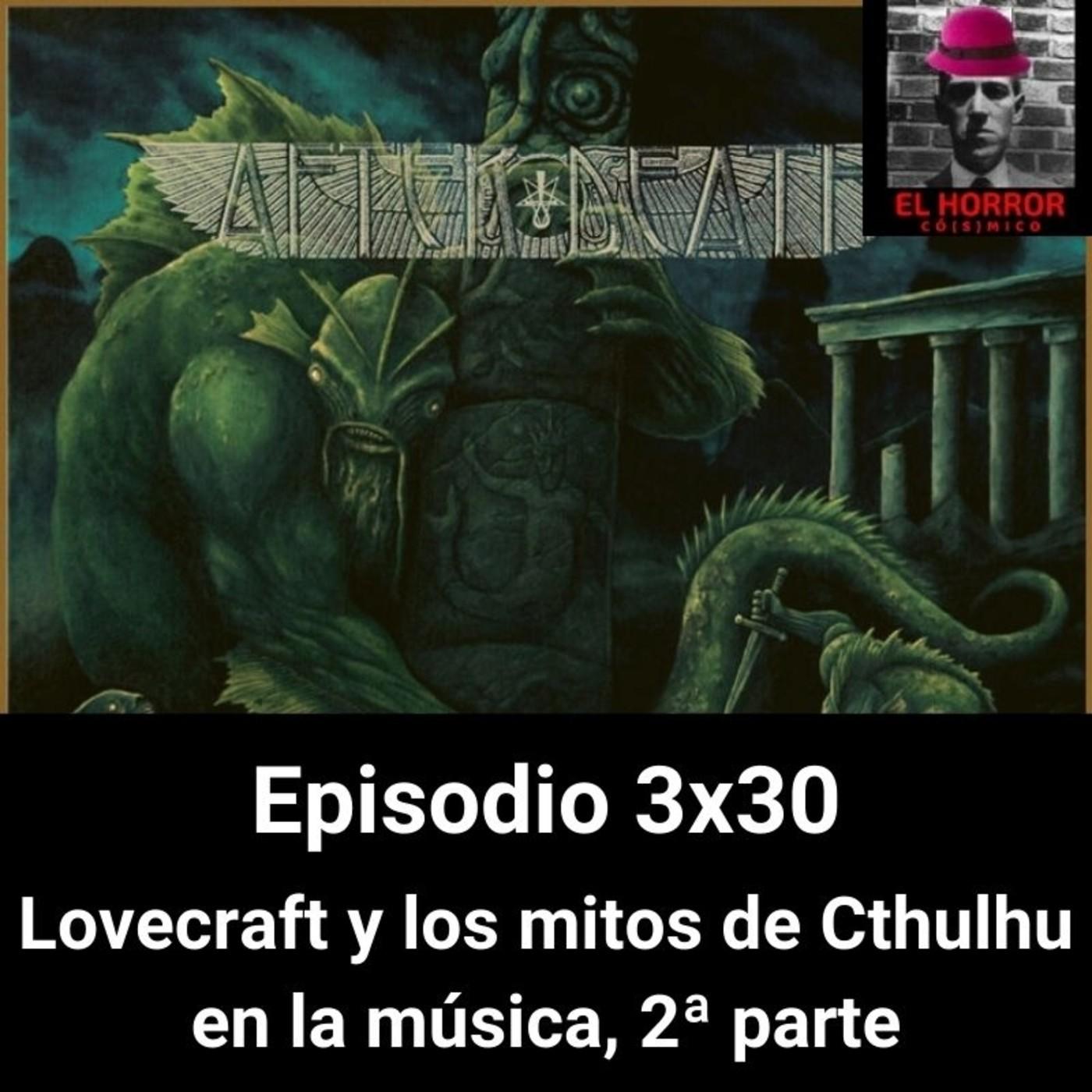 EHC 3X30 Lovecraft y los mitos de Cthulhu en la música. 2ª parte en El horror cósmico: humor, terror y en a -…