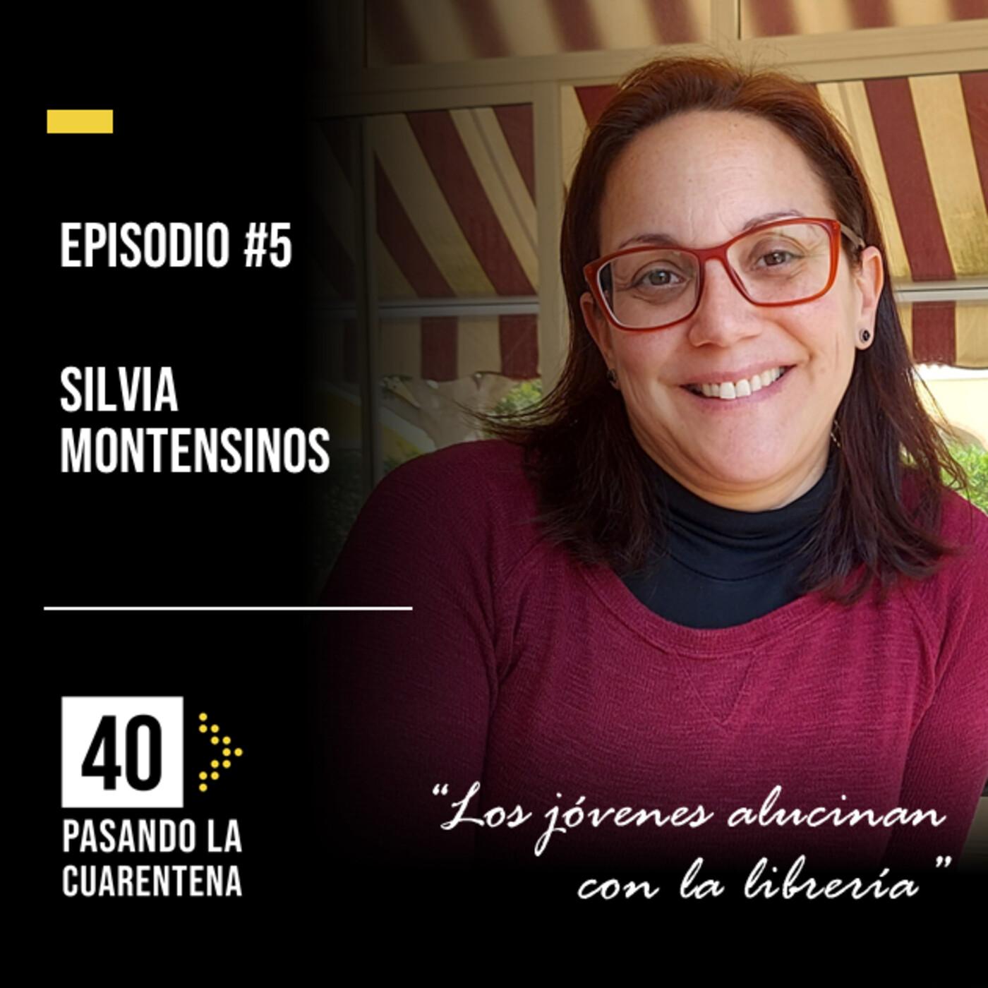 """#5 Silvia Montesinos: """"Los jóvenes alucinan con la librería"""" en Pasando la cuarentena en a las -…"""