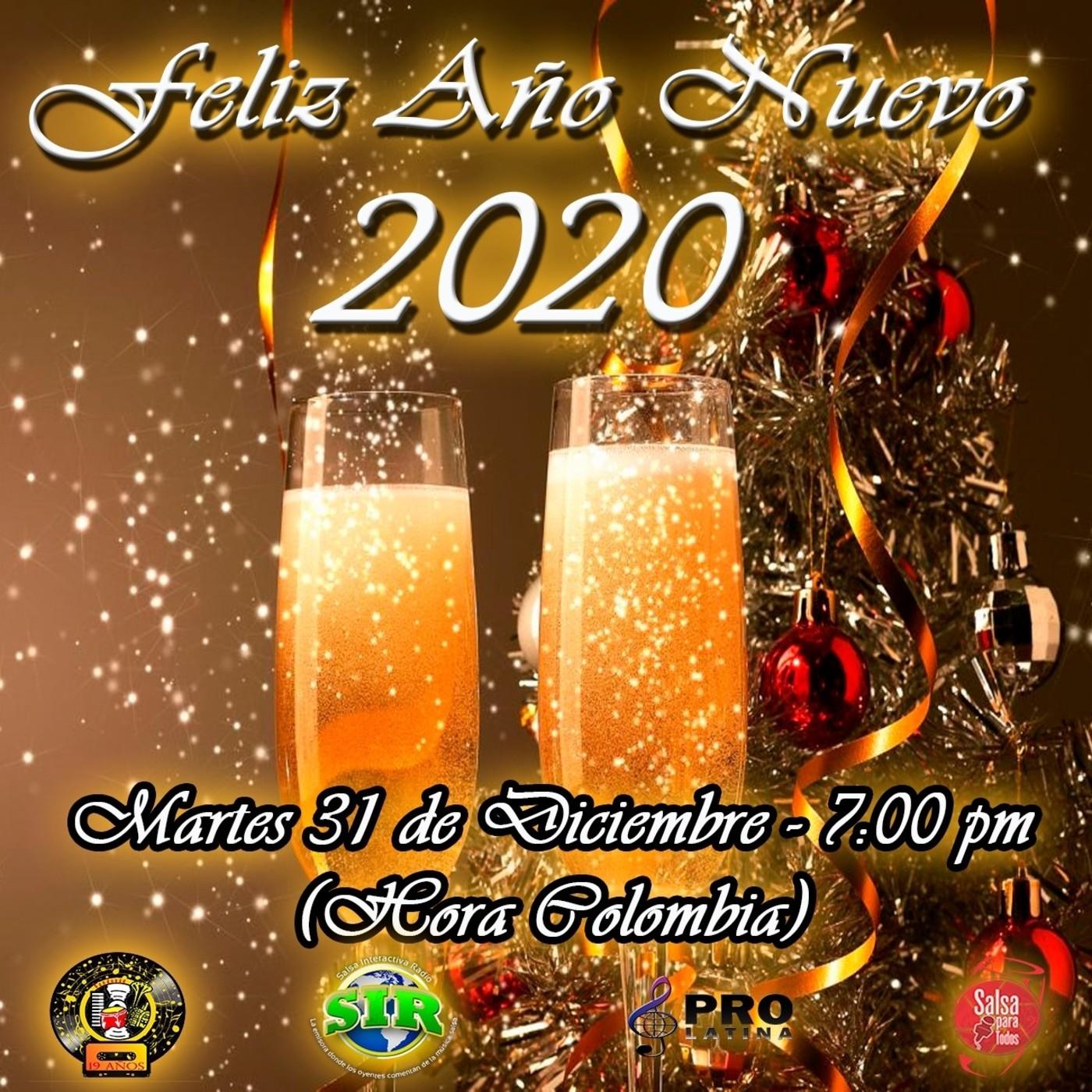 Martes 31 De Diciembre 2019 Fiesta De Año Nuevo Con