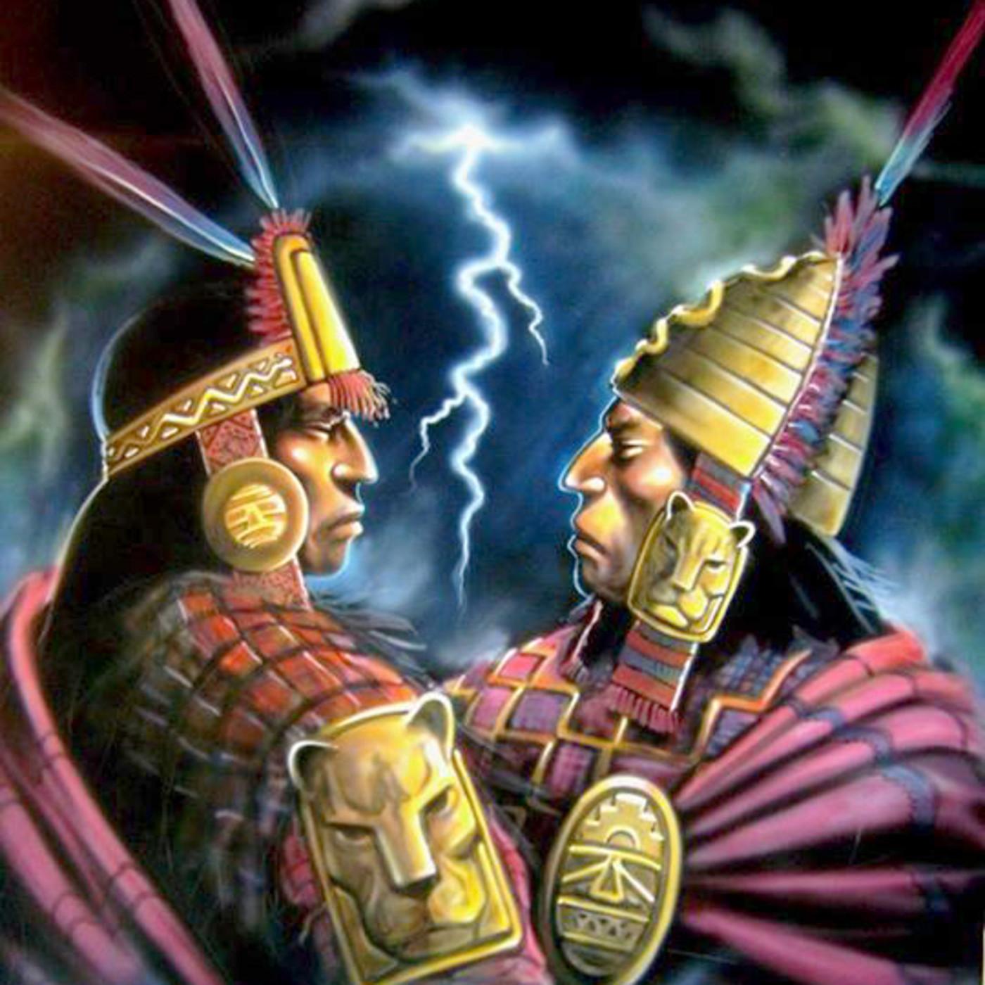Atahualpa frente a Huascar. La guerra entre hermanos en Isidro ...