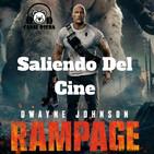 Rampage Saliendo del Cine