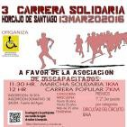Entrevista 3ª carrera solidaria Horcajo de Santiago