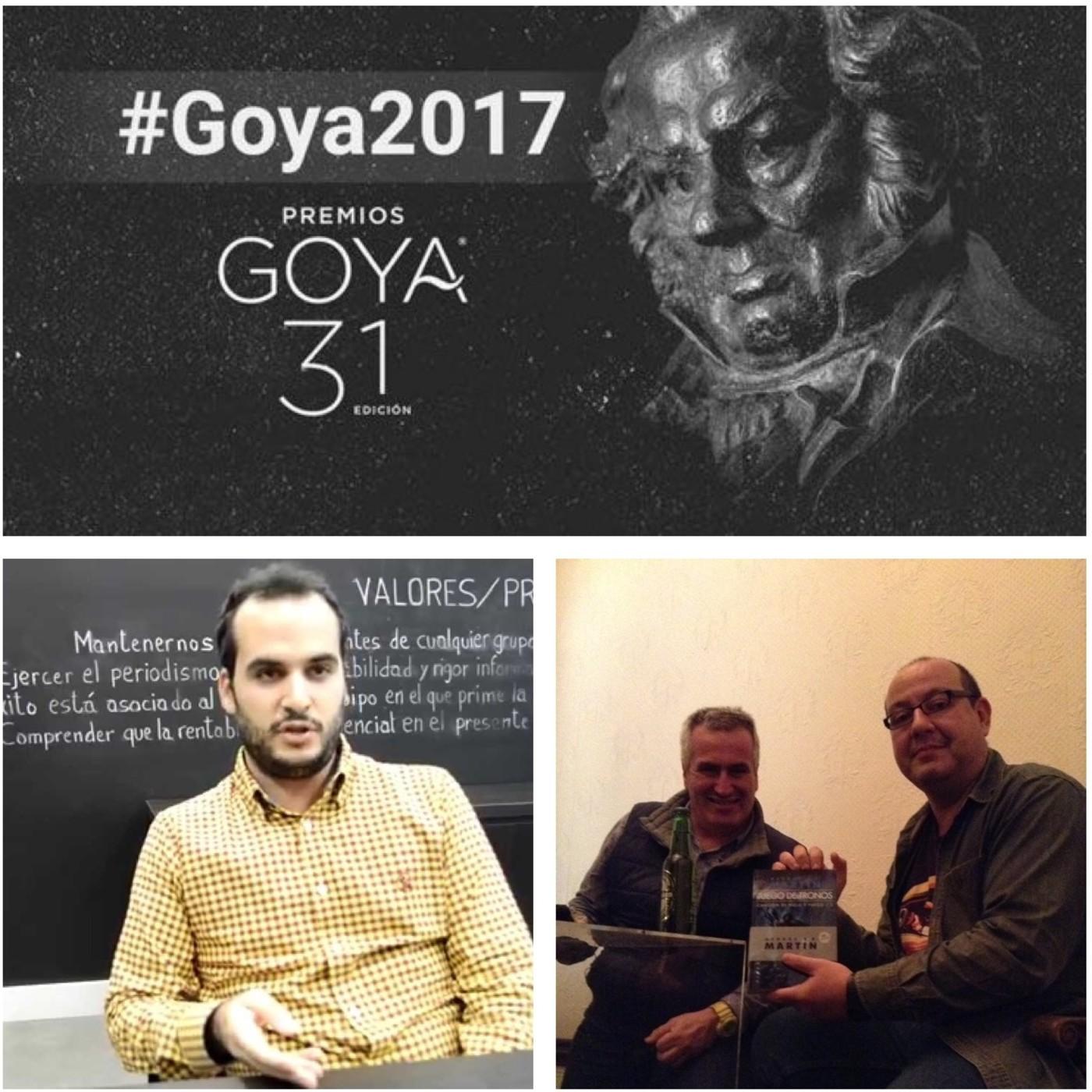Previa de los Goya, coloquio Juego de Tronos y CineMasFood 2017