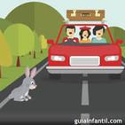 349. Un conejo en la vía.