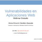 Webinar Gratuito: Vulnerabilidades en Aplicaciones Web
